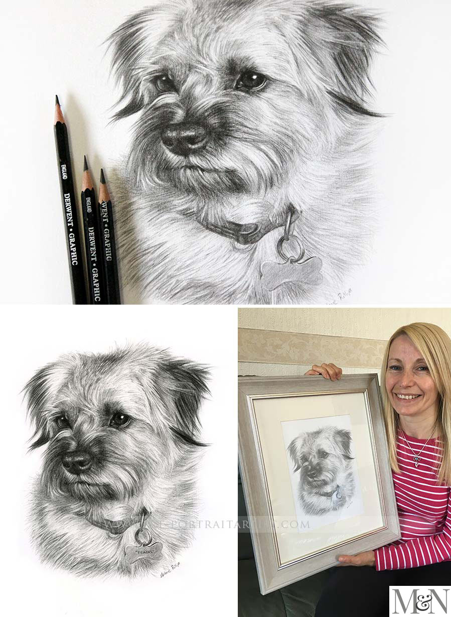Pencil Pet Portraits